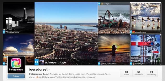 Instagram appeal grows across UK