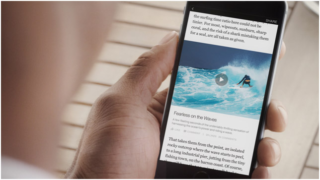 Facebook's Instant Articles: threat and opportunity for travel?