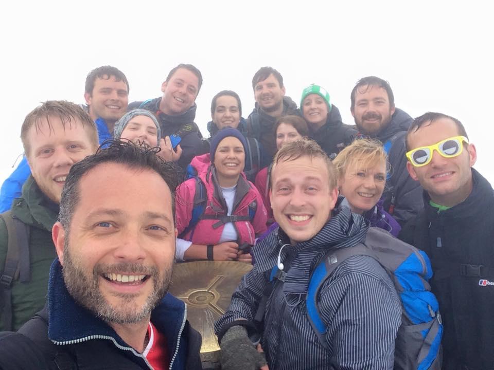 Team Feefo Conquer Three Peaks