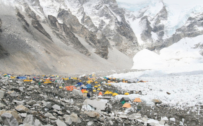 camping-sites-on-Mount-Everest