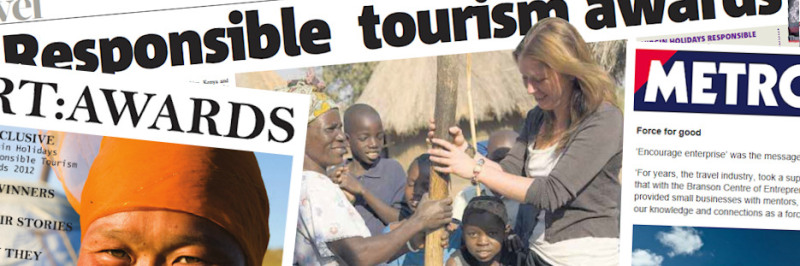 Responsible Tourism Awards matter – apply for yourself or encourage others