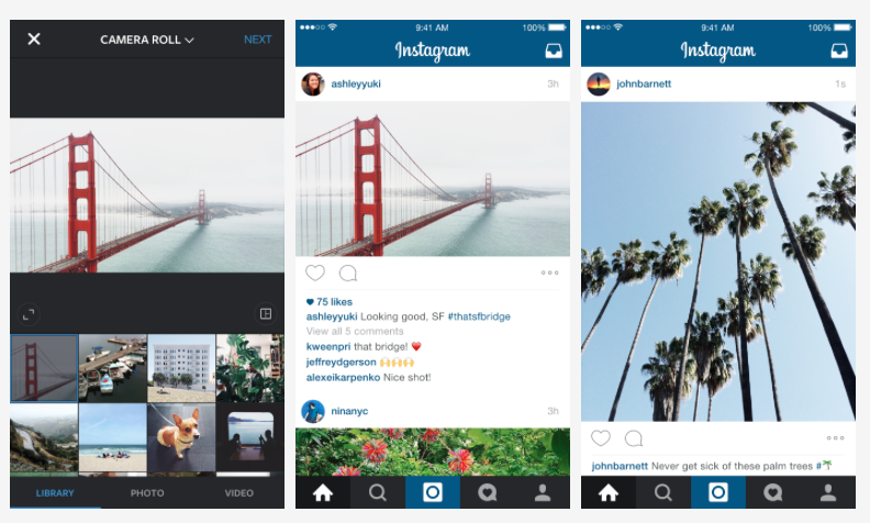 Square, us? Instagram makes its photo size rule obsolete
