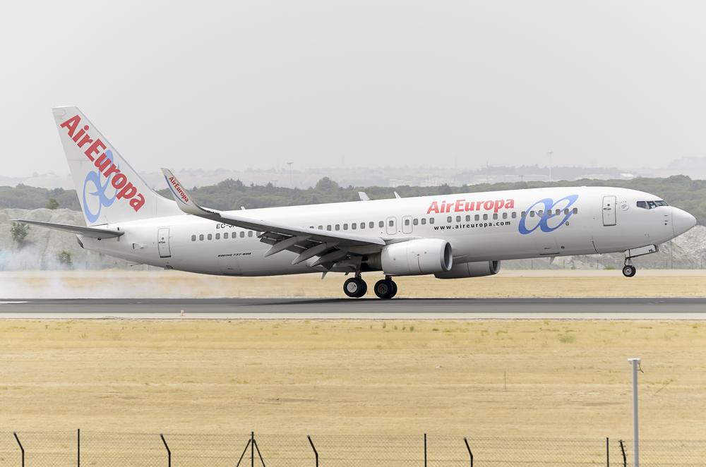 Air Europa living the Dreamliner