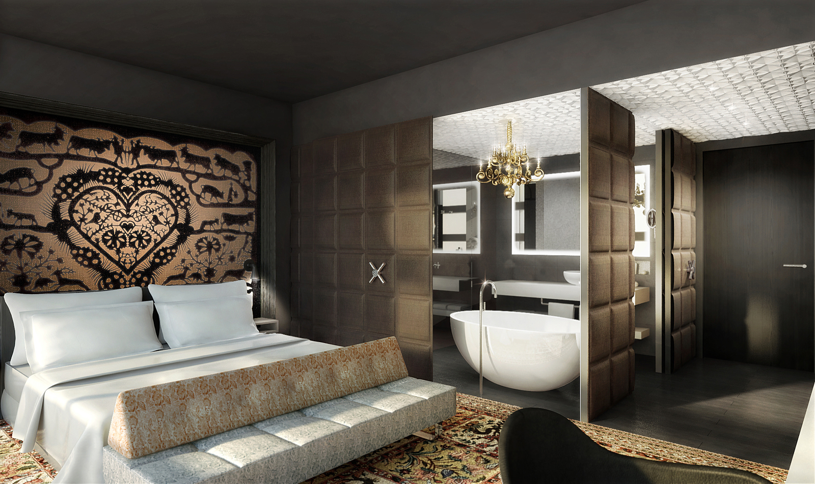Suite dreams at Kameha Grand Zurich