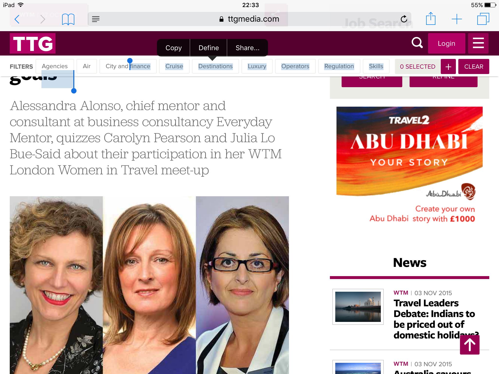 Inspirational Leadership Journeys from Women in Travel