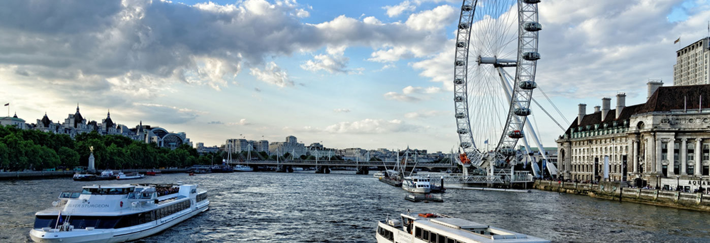 Down by the river with City Cruises