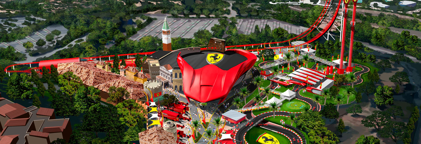 PortAventura Revs Up at WTM London as Ferrari Land opens in 2017