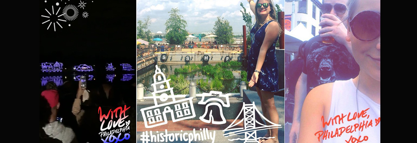 How destinations are using Snapchat geofilters