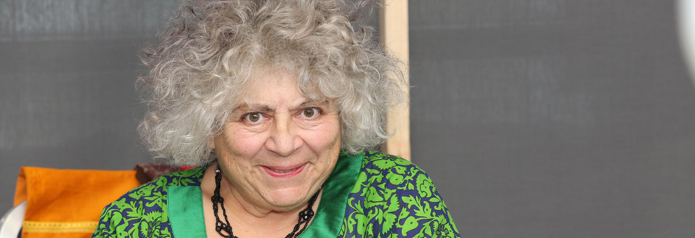 "India's People Are ""Warm, Funny, Joyous and Welcoming""  Says Film Star Miriam Margolyes"