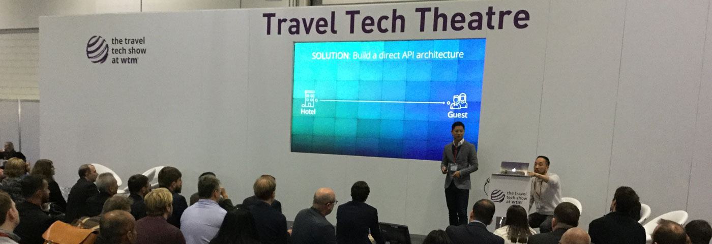 Travel Tech Show at WTM Day 1