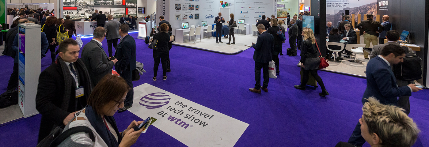 Appy' exhibitors shun 'byte'-size stands for a bigger presence at the Travel Tech Show at WTM