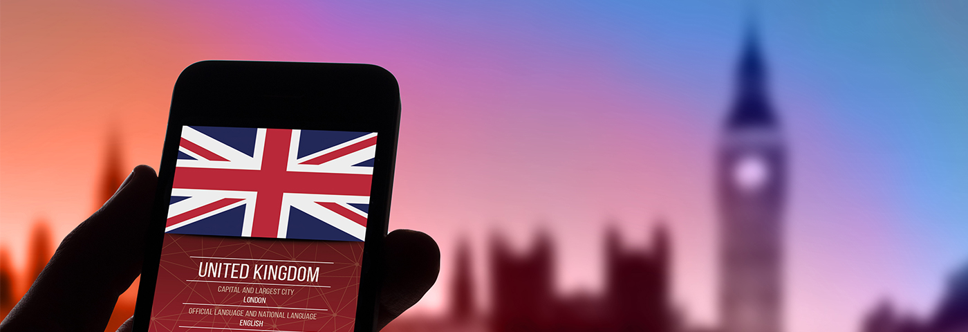 How important is social media in attracting visitors to Britain?
