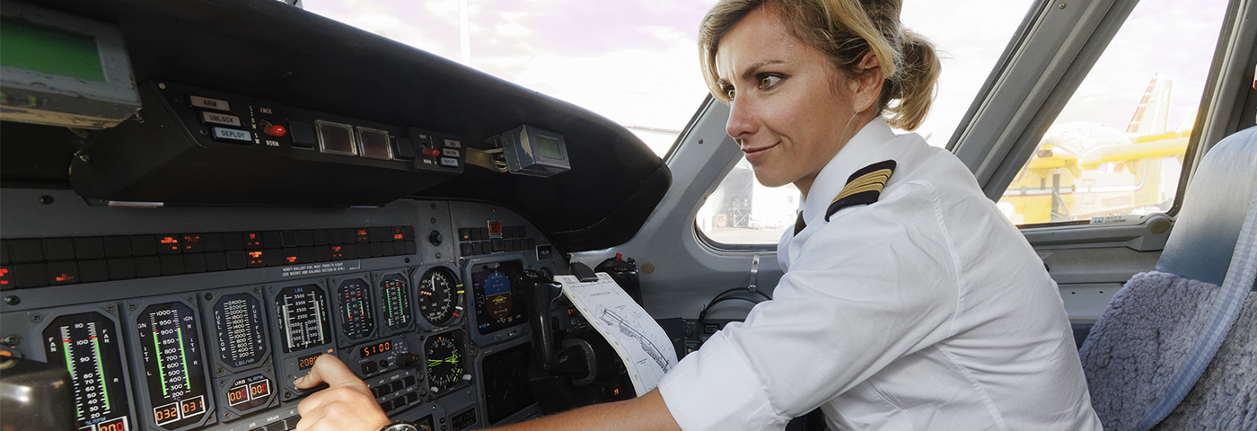 Where are all the female airline pilots?