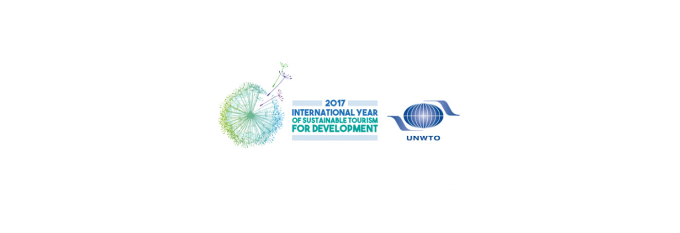 2017 – International Year of Sustainable Tourism for Development
