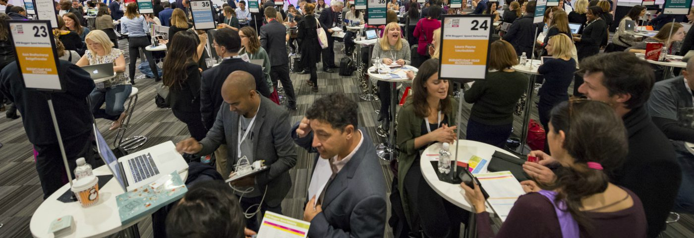 WTM London open registration for Digital Influencers' Speed Networking 2017 sponsored by Whalar