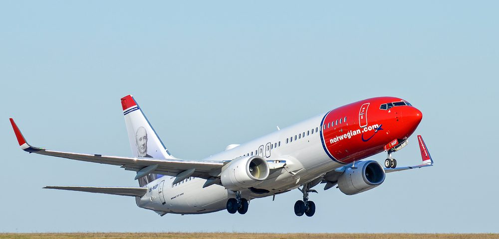 Norwegian Air connects Connecticut to Scotland