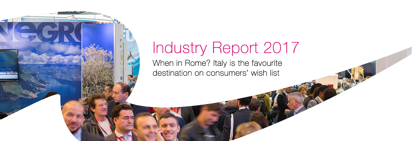 When in Rome? Italy is the favourite destination on consumers' wish list
