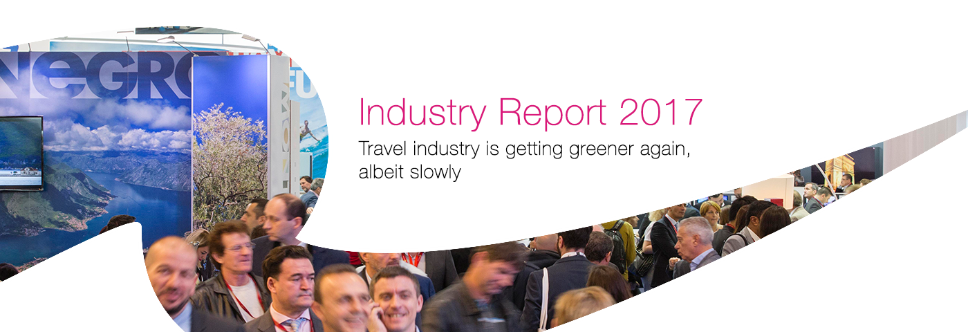Travel industry is getting greener again, albeit slowly