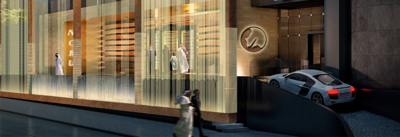 Why is there a luxury hotel boom in the Middle East?