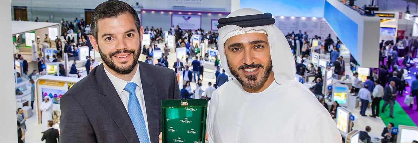 Dubai Tourism wins ATM Stand Award