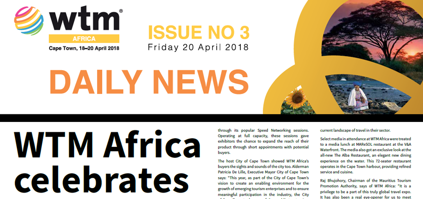 WTM Daily News | Wednesday 20 April 2018