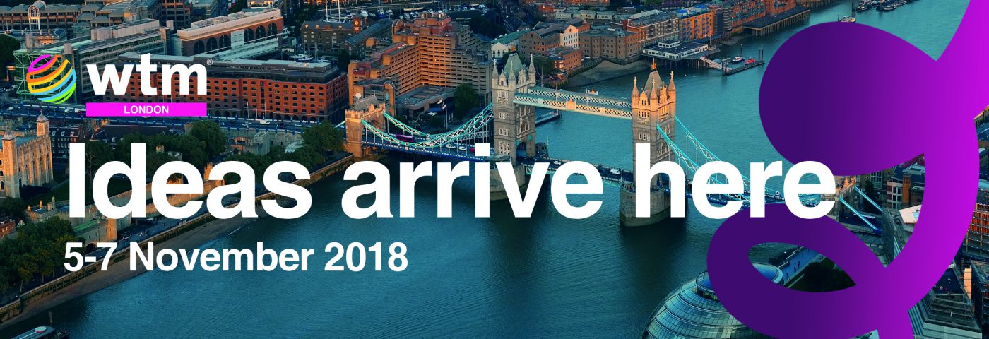 Register Now For An Array Of Ideas At WTM London and Travel Forward 2018
