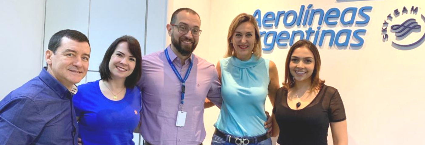 WTM Latin America arranges an agenda with Aerolíneas Argentinas and MPI Brasil