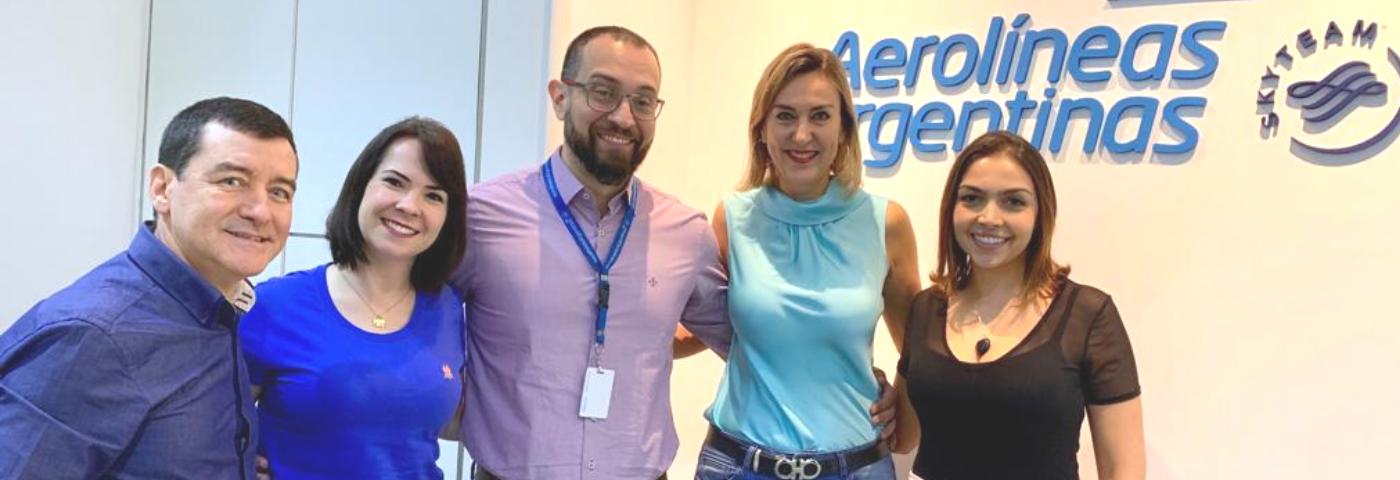WTM Latin America realiza agenda com Aerolíneas Argentinas e MPI Brasil
