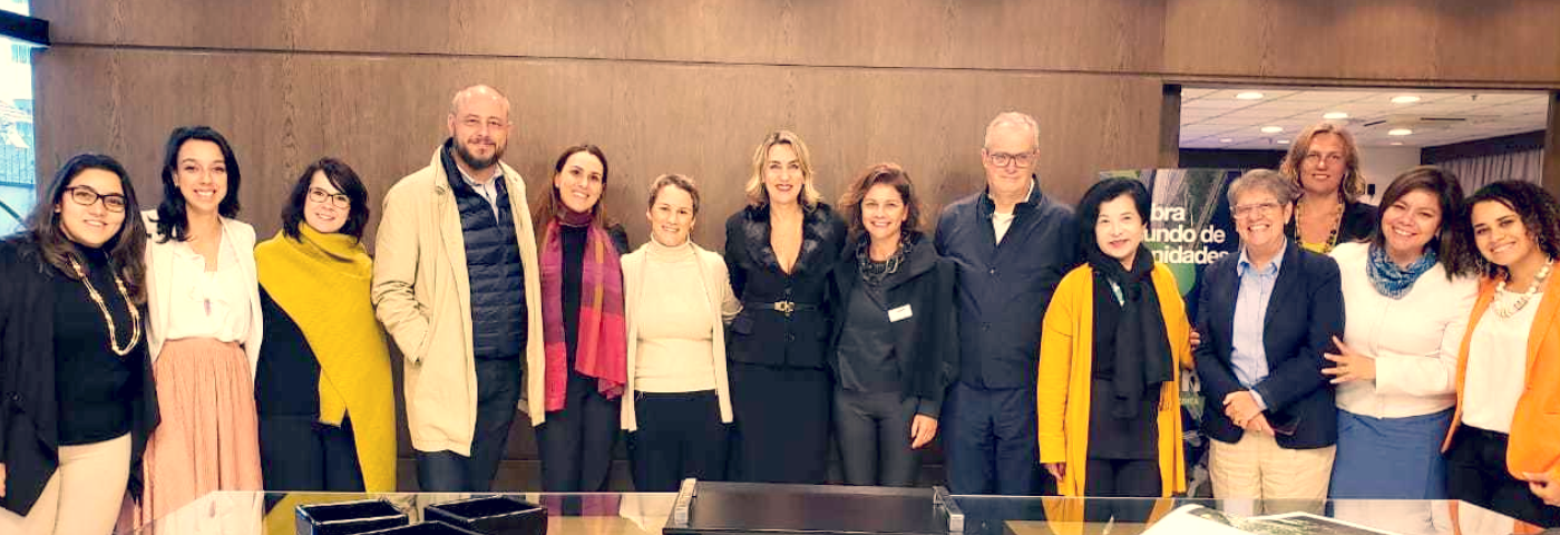 Luciane Leite and Adriana Cavalcanti meet with WTM Latin America's Advisory Board