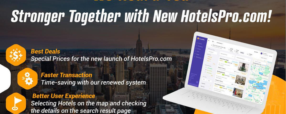 Renovated HotelsPro.com hits the Online Market