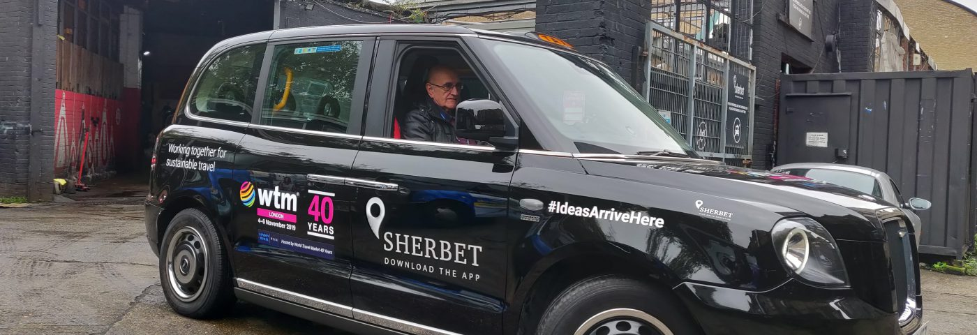 Sherbet London Taxis Point to the Future of Travel at WTM London