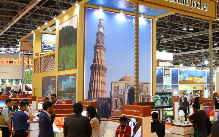 India stand at Arabian Travel Market
