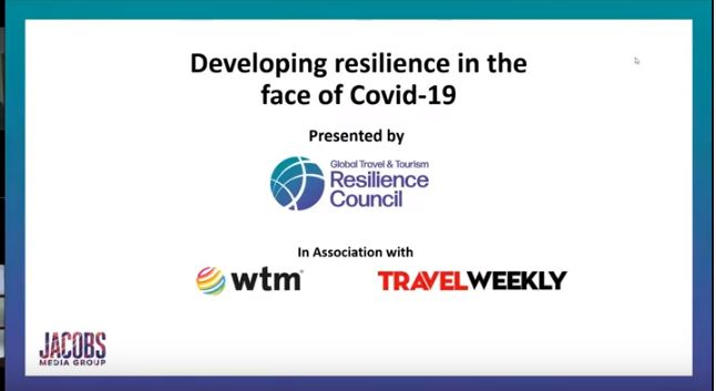 Webinar – Developing resilience in the face of Covid 19