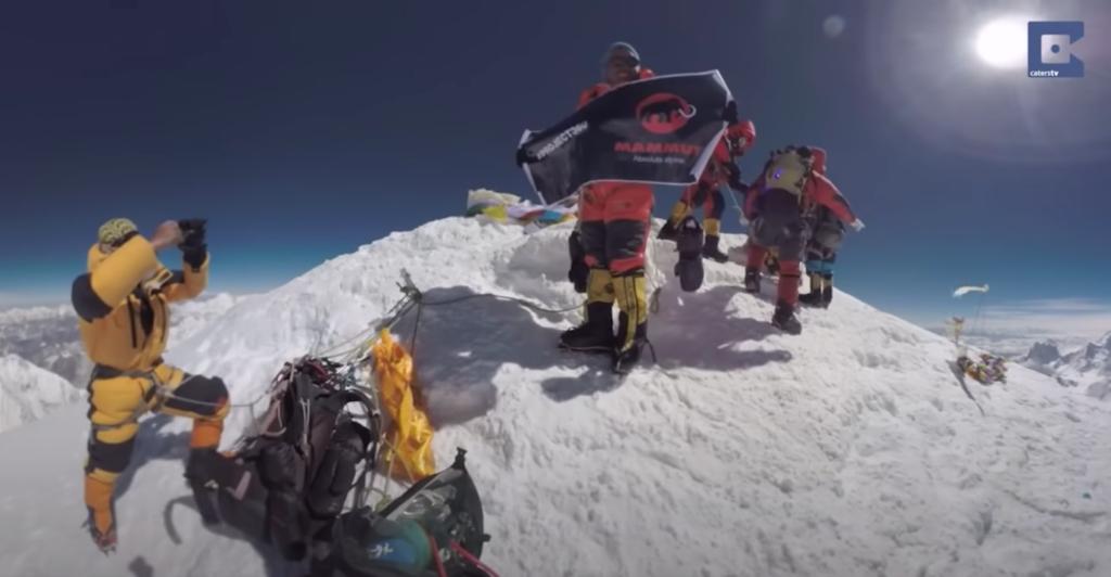 Mt Everest virtual climb