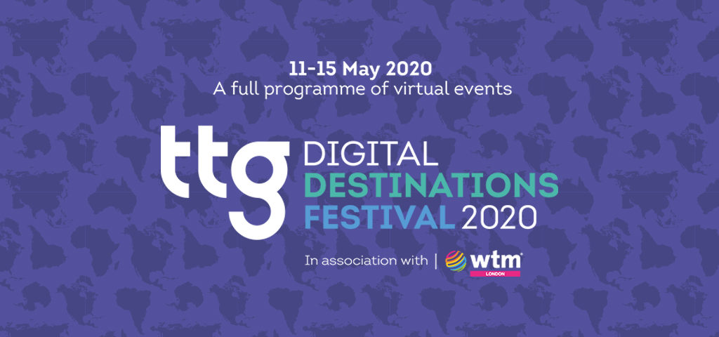 WTM London supports TTG Digital Destinations Festival 2020