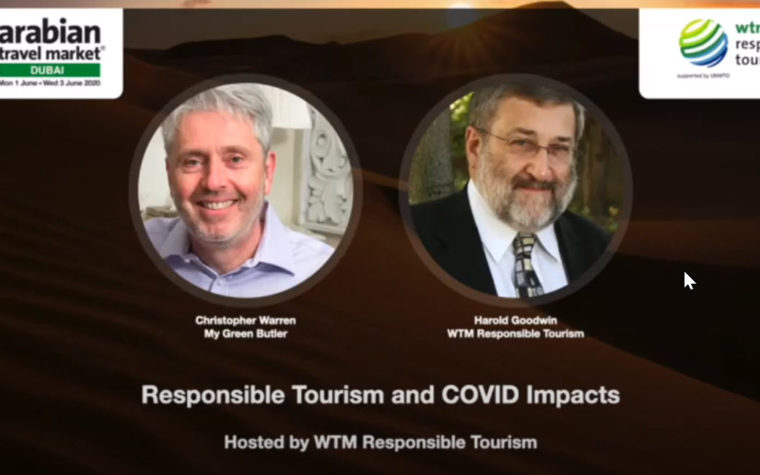Responsible Tourism and COVID Impacts
