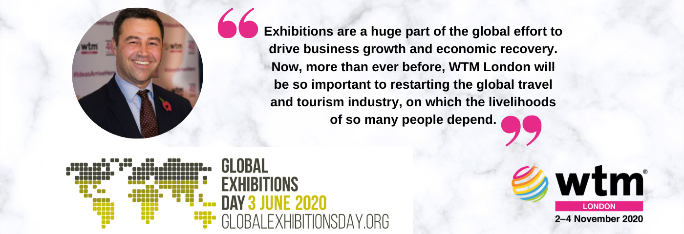 WTM London supports Global Exhibitions Day