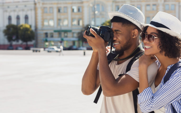 black travel influencers