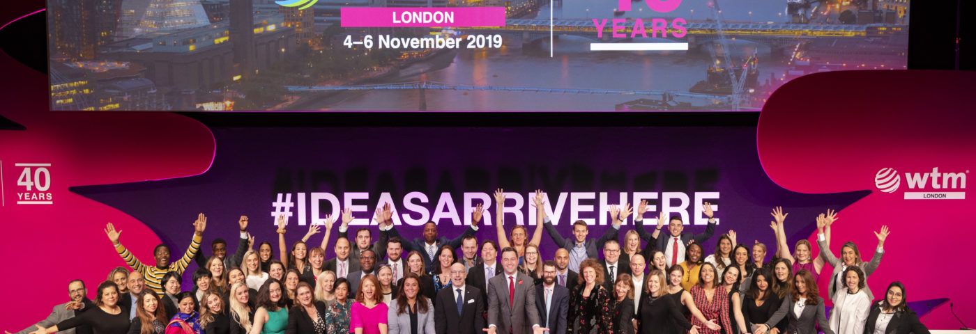 WTM London and Travel Forward reveal plans for 2020