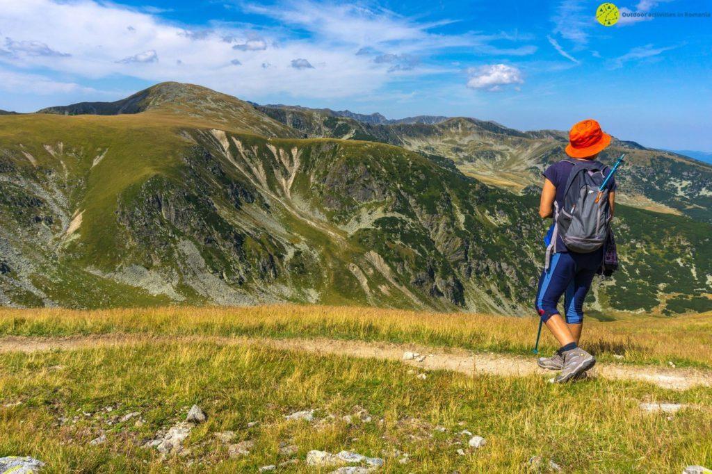 Romanian trek landscape