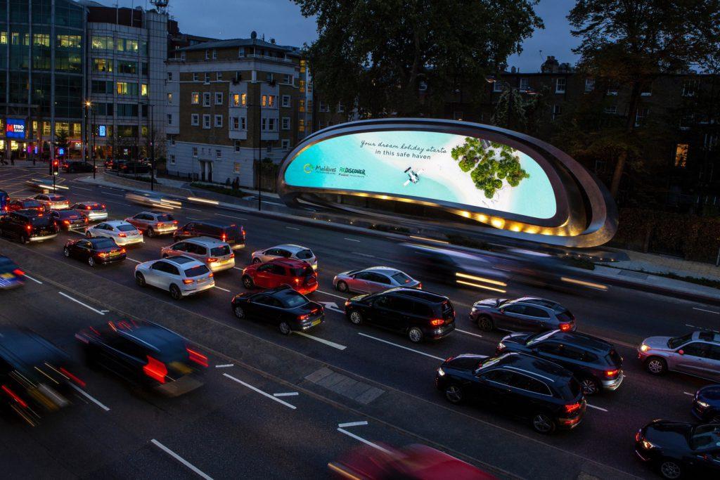 Maldives ad campaign