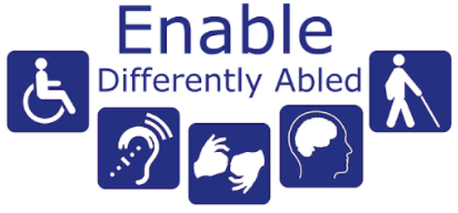 enable differently abled