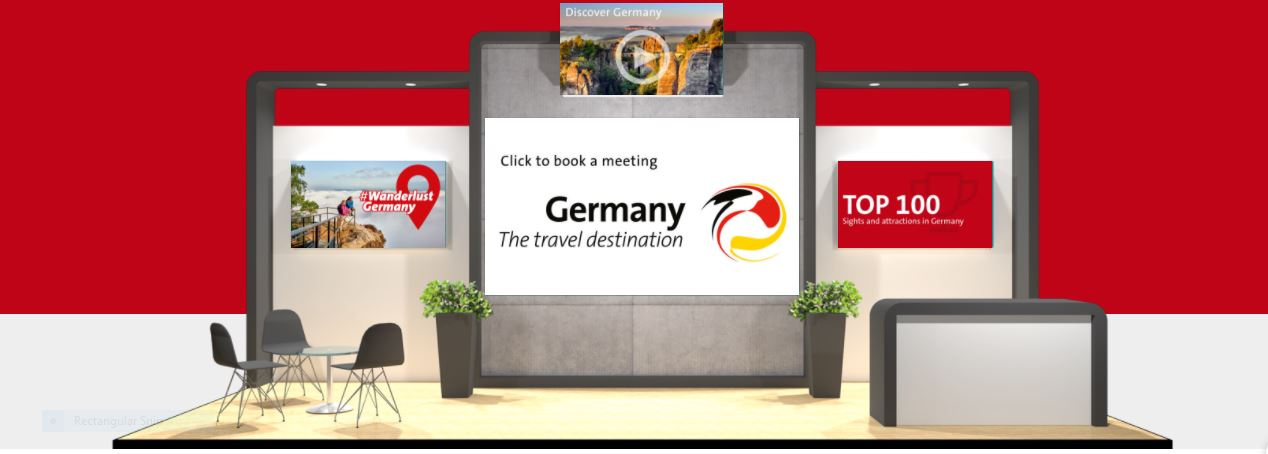 German National Tourist Board wins Best Stand Award at WTM Virtual