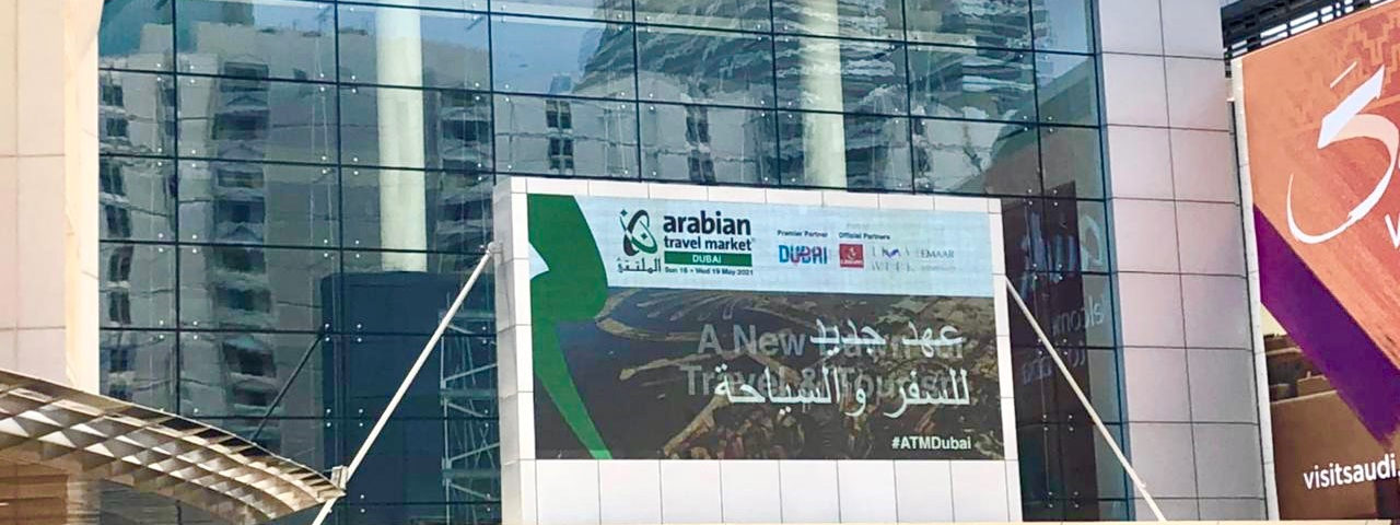 Arabian Travel Market 2021 prepares to open the in-person show in Dubai tomorrow as a new dawn awaits ME travel & tourism sector