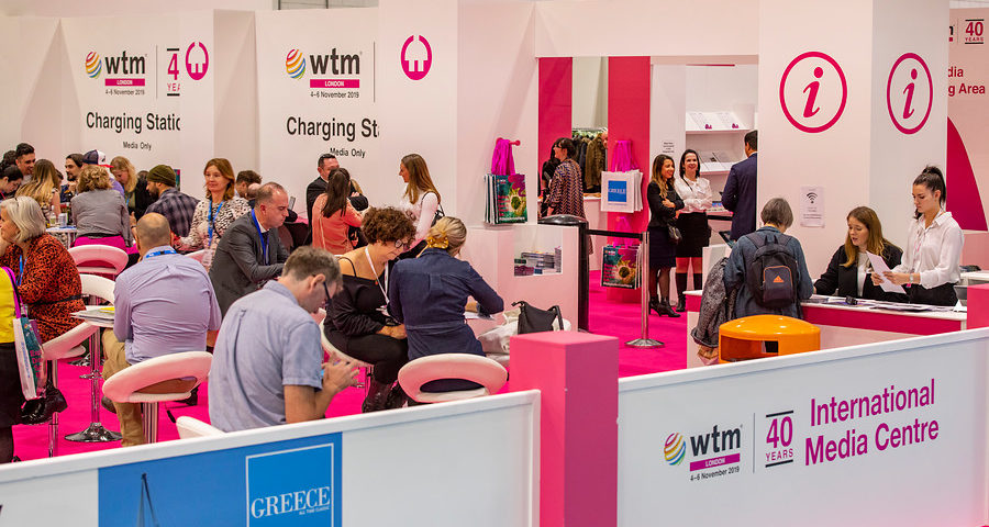 Greece continues sponsorship of International Media Centre at WTM London 2021